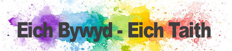 Cystadleuaeth Eich Bywyd - Eich Taith